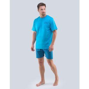 Tyrkysové pánské pyžamo Good Vibes obraz