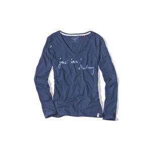 Tmavě modré tričko Mustang Navie Posie obraz