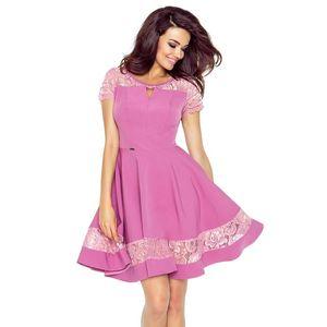 Růžové šaty Bianca obraz