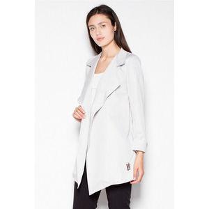 Světle šedý kabátek VT039 obraz