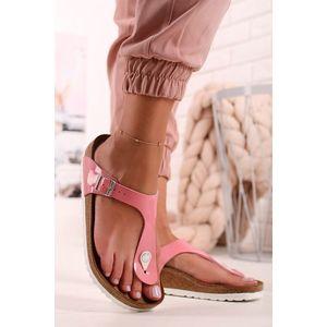 Dámské světle růžové pantofle Gizeh BF obraz