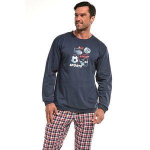 Pánské modro-červené pyžamo Sport obraz