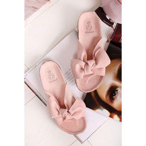 Světle růžové pantofle Vivien obraz