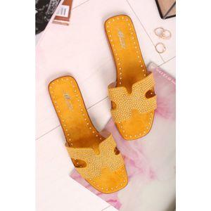 Žluté pantofle Jodi obraz