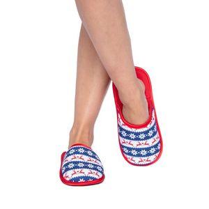Vzorované pantofle Nordic obraz