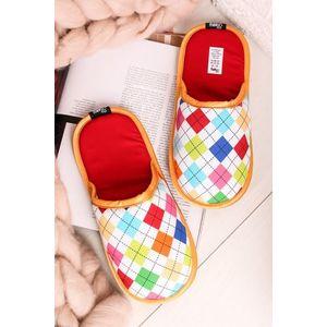 Vícebarevné dámské pantofle Lazy Golfer obraz