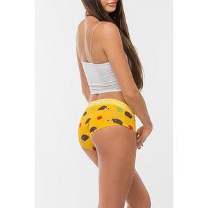 Žluté bavlněné boxerky Hedgehog obraz