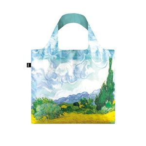 Zelená taška Loqi Vincent Van Gogh A Wheat Field obraz
