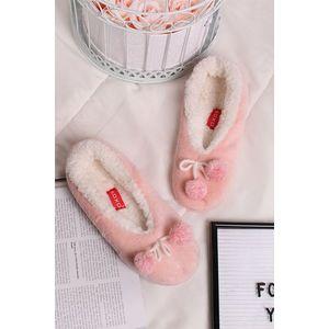 Růžové pantofle Ivonne obraz