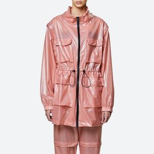 Rains Ultralight Zip Off Parka 1846 SHADOW BLUSH obraz