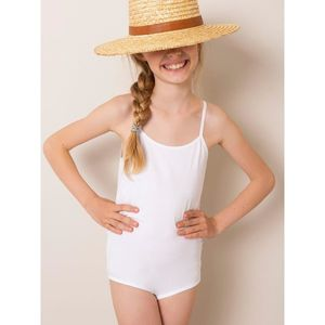 White cotton body for a girl obraz