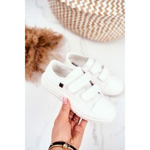 Children's Shoes Sneakers Big Star With Velcro White GG374010 obraz