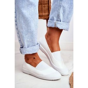 Sneakers On Slip On Sneakers White Justy obraz