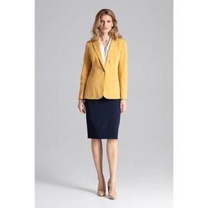 Figl Woman's Jacket M653 Mustard obraz