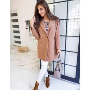 Women's coat VERSO camel NY0372 obraz