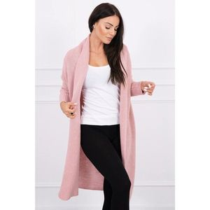 Sweater with batwing sleeve powdered pink obraz
