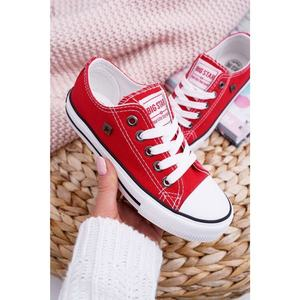 Children's Shoes Sneakers Big Star FF374200 Red obraz
