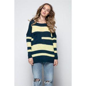 Modro-žlutý pulovr I240 obraz