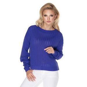 Fialový pulovr 70022 obraz