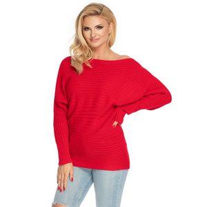 Červený pulovr 70036 obraz