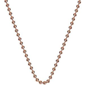 Hot Diamonds Stříbrný řetízek Emozioni Rose Gold Bead Chain 18 CH007 obraz