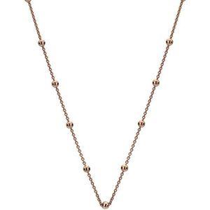 Hot Diamonds Růžově pozlacený stříbrný řetízek Emozioni CH051 obraz