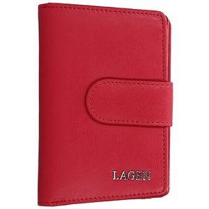 Lagen Dámská kožená peněženka 50313 Red obraz