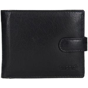 Lagen Pánská kožená peněženka E-1036 BLK obraz