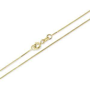 Brilio Luxusní zlatý řetízek 50 cm 271 115 00132 obraz