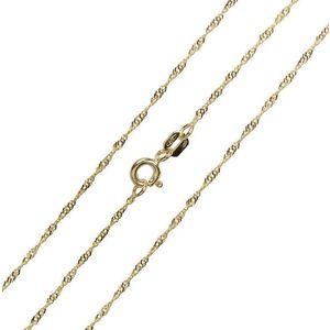 Brilio Luxusní řetízek ze žlutého zlata 45 cm 271 115 00181 obraz