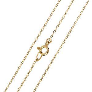 Brilio Elegantní zlatý řetízek Anker 60 cm 271 115 00297 obraz