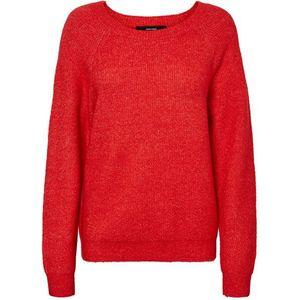 Červený lehký pulovr obraz