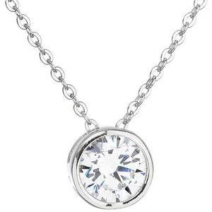 Evolution Group Stříbrný náhrdelník se zirkonem 12017.1 obraz