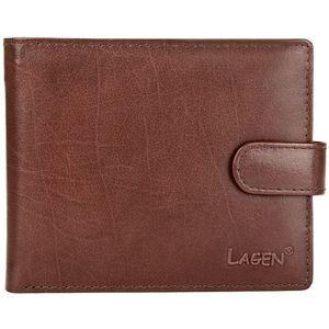 Lagen Pánská kožená peněženka E-1036 BRN obraz
