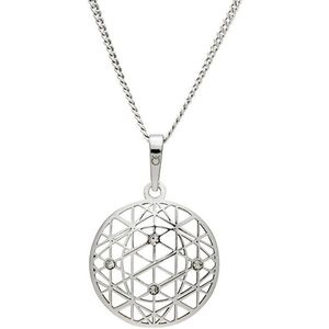 Praqia Tajemný stříbrný náhrdelník KO1594_CU040_50_RH (řetízek, přívěsek) obraz