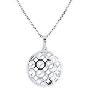 Praqia Originální stříbrný náhrdelník KO1694_MO040_45_RH (řetízek, přívěsek) obraz