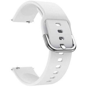 4wrist Silikonový řemínek - Bílý 22 mm obraz