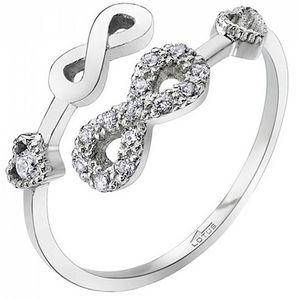 Lotus Silver Otevřený stříbrný prsten pro ženy LP1617-3/1 obraz