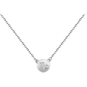 JVD Stříbrný náhrdelník s přívěskem Kozoroh SVLN0165XF300KO obraz