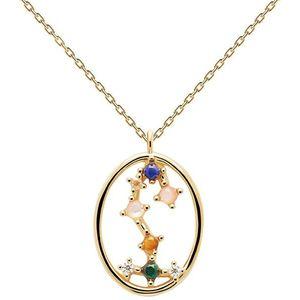PDPAOLA Originální pozlacený náhrdelník Štír SCORPIO CO01-351-U (řetízek, přívěsek) obraz