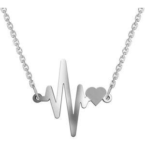 Praqia Originální stříbrný náhrdelník Lisa N6319 obraz