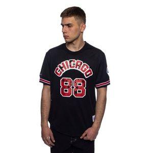 Mitchell & Ness Chicago Bulls All Star black Name & Number Mesh Crewneck obraz