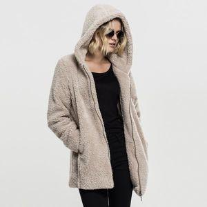 Urban Classics Ladies Sherpa Jacket sand obraz