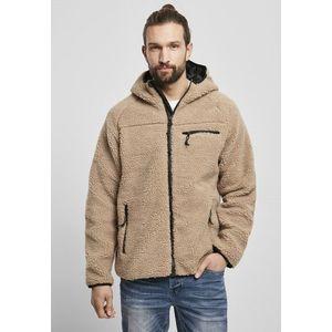 Brandit Teddyfleece Worker Jacket camel obraz