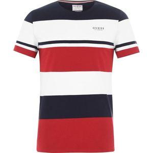 Guess Jeans pánské tričko Barva: červená, Velikost: S obraz