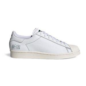 Adidas pánské tenisky Barva: Bílá, Velikost: UK 3.5 obraz