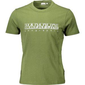 Napapijri pánské tričko Barva: Zelená, Velikost: XL obraz