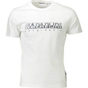 Napapijri pánské tričko Barva: Bílá, Velikost: XL obraz