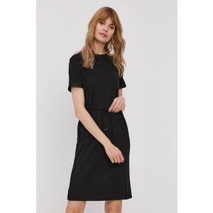 Calvin Klein Šaty Černá obraz
