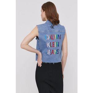 Calvin Klein Jeans - Džínová vesta obraz